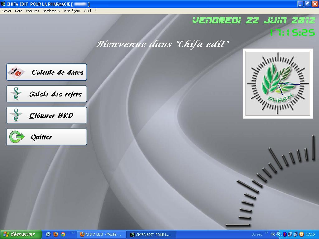 logiciel cnas chifa